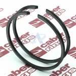 Piston Ring Set for SHINDAIWA 488, 488 EMC, 490 EPA2, 490 EC1 [#2215741210]