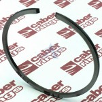 Piston Ring 43 x 1.2 mm (1.693 x 0.047 in) for Chainsaws, Trimmers, Brushcutters, Scooters, Motobikes (LN)