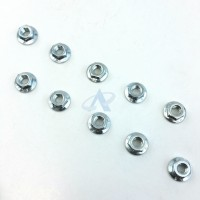 Hexagon Nuts M5-8 w/ lock for STIHL Machines [#92162610700] - 10pcs
