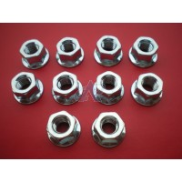 Nut (M8) Flanges for PARTNER Chainsaws and Power Cutters [#503220001]
