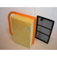 Air & Auxiliary Filter for STIHL TS 410-Z, TS 420-Z [#42381404401]