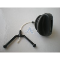 Oil Cap for HUSQVARNA 128, 323, 325, 326, 327, 340, 345 E, 346 XP, 350, 353, 535