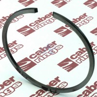 Piston Ring 46 x 1.2 mm (1.811 x 0.047 in) for Chainsaws, Trimmers, Brushcutters, Scooters, Motobikes (LN)